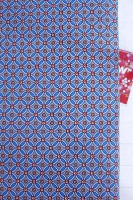 geometric hoeslaken blue